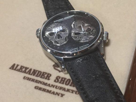 Alexander Shorokhoff Uhrenmanufaktur: LOS CRANEOS