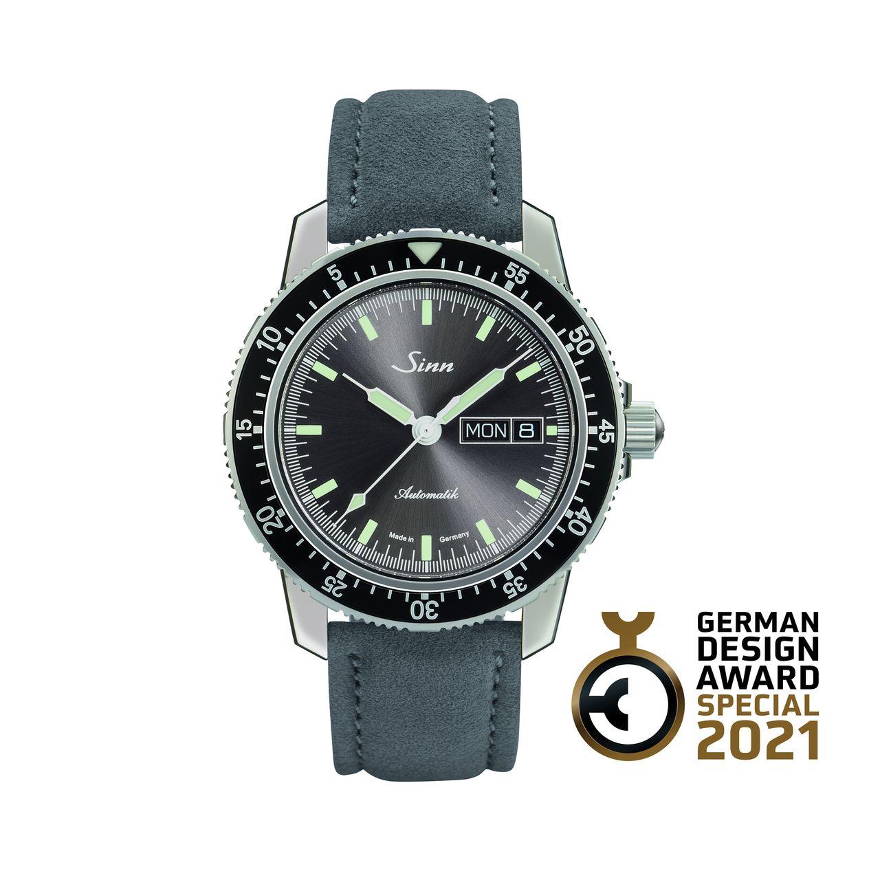 """German Design Award: """"Excellent Product Design 2021: SINN Spezialuhren 104 St Sa I A"""